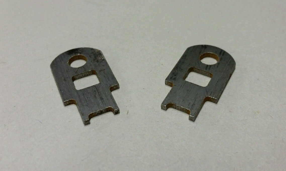1967 1972 Seat Track Adjuster Clips Vintage Chevy